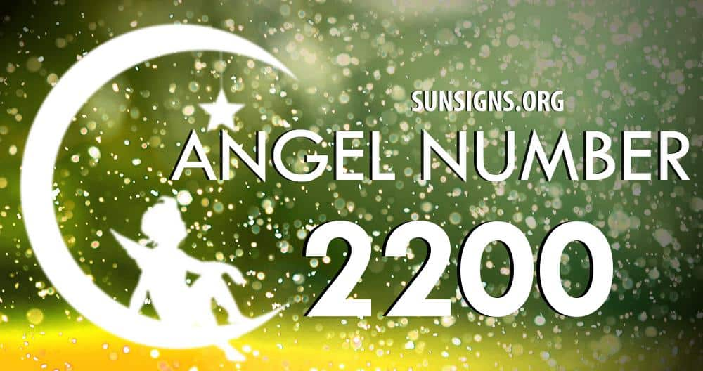 angel number 2200