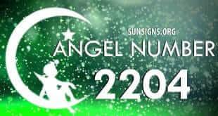 angel number 2204