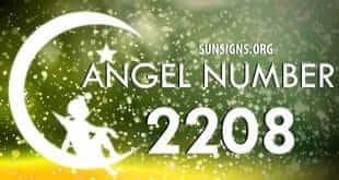 angel number 2208