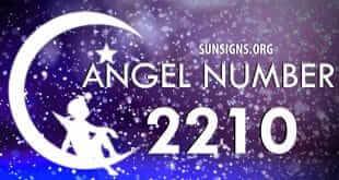 angel number 2210
