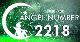 angel number 2218