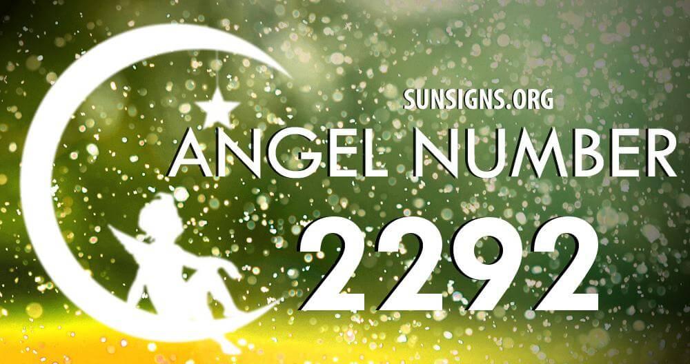 angel number 2292