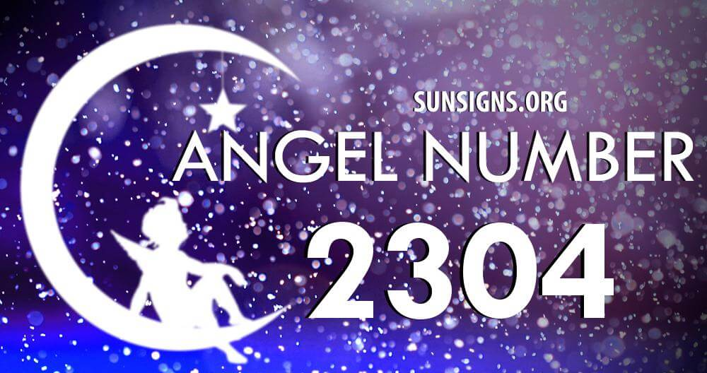 angel number 2304