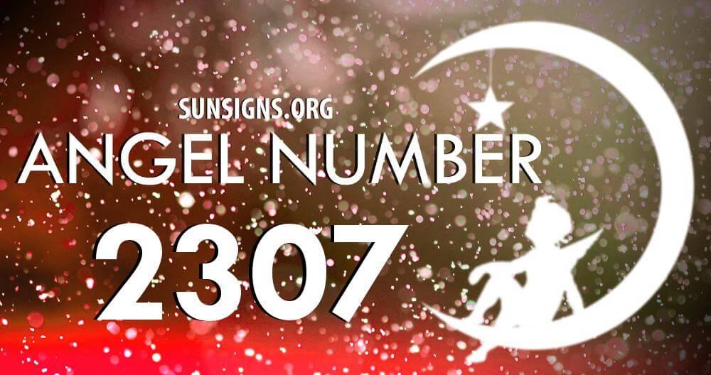 angel number 2307