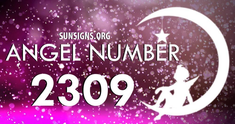 angel number 2309