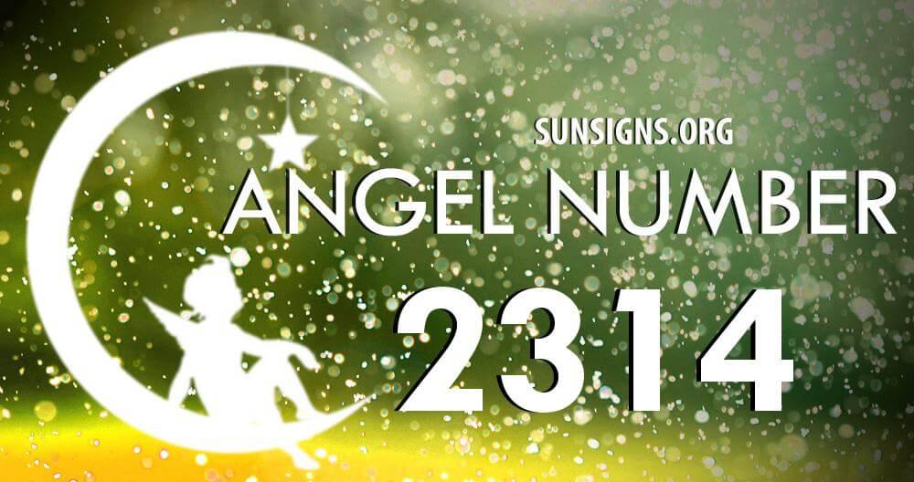 angel number 2314