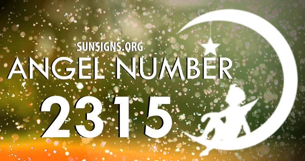angel number 2315
