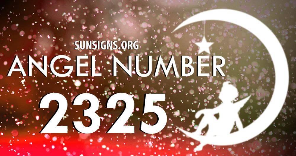angel number 2325