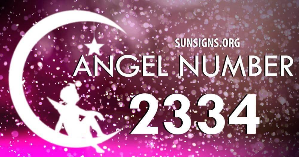 angel number 2334