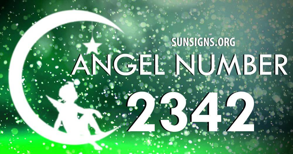 angel number 2342