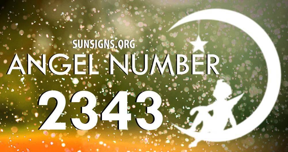 angel number 2343