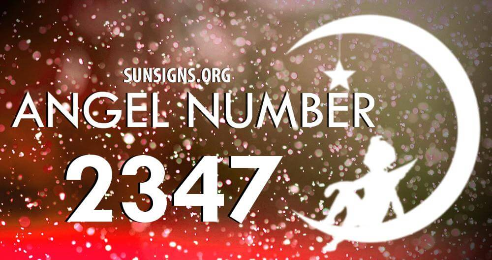 angel number 2347