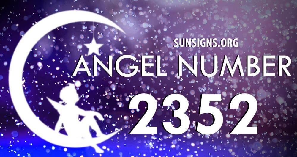 angel number 2352