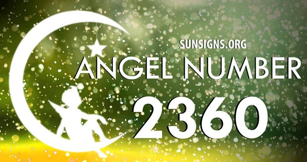 angel number 2360