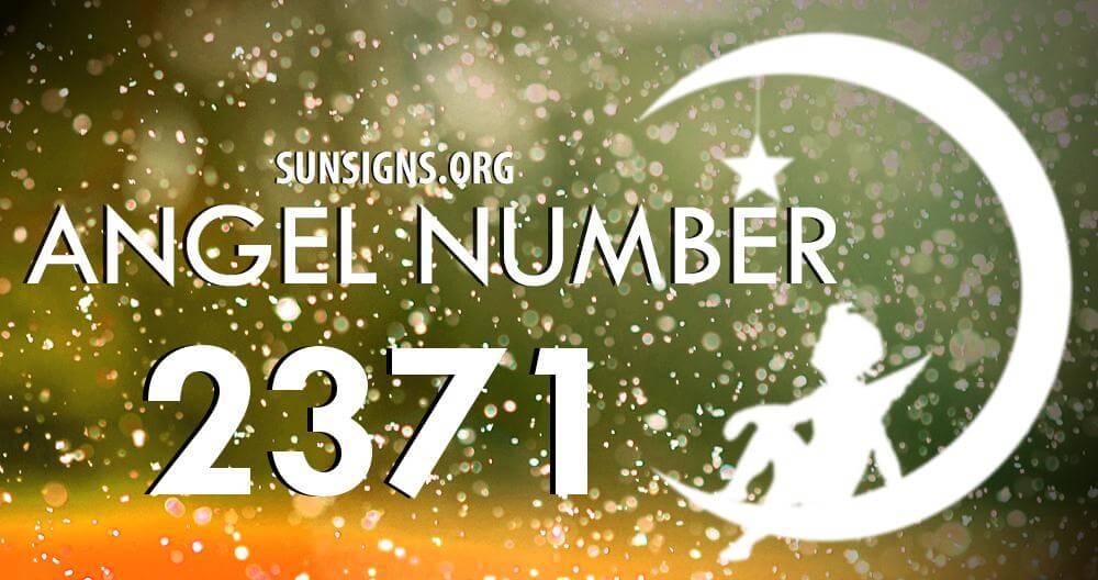 angel number 2371