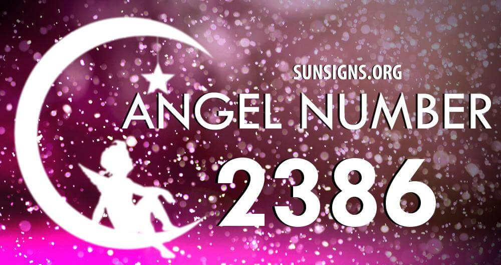 angel number 2386
