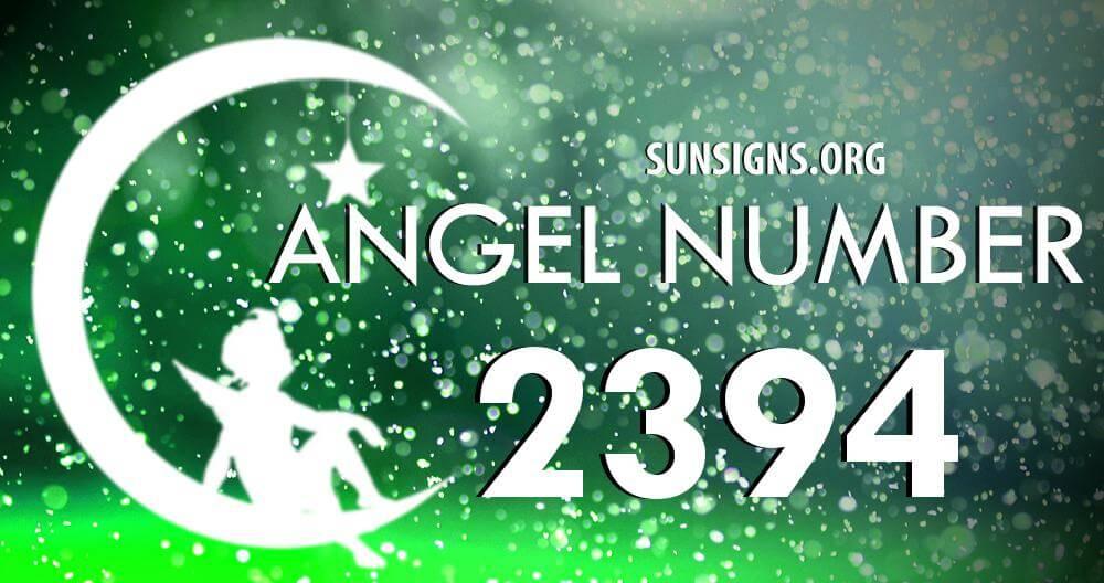 angel number 2394