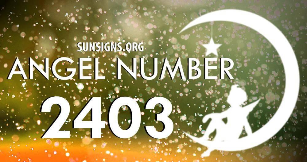 angel number 2403
