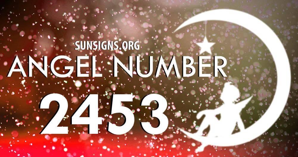 angel number 2453