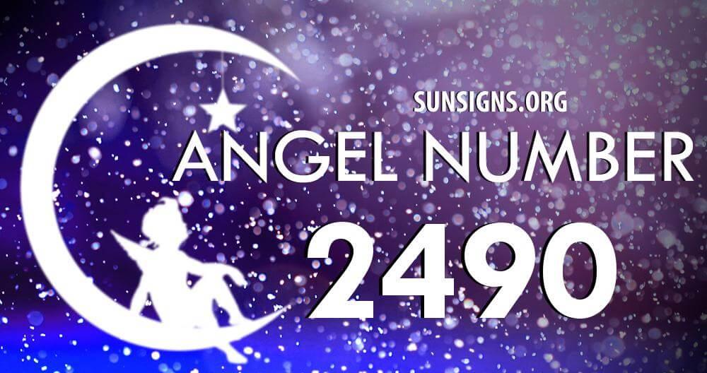 angel number 2490