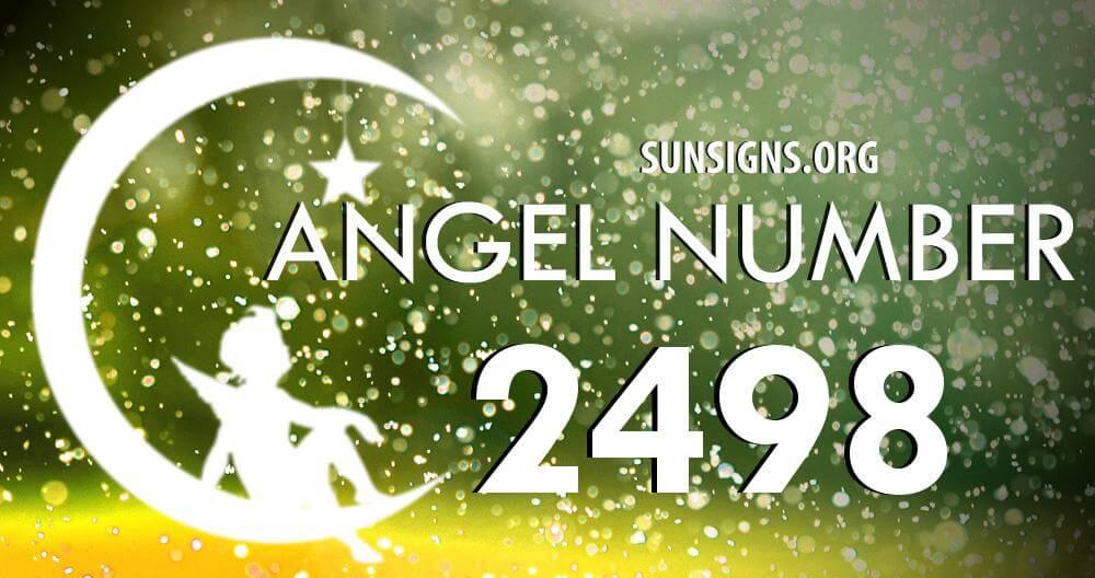 angel number 2498
