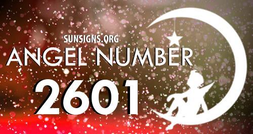 angel number 2601