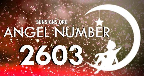 angel number 2603