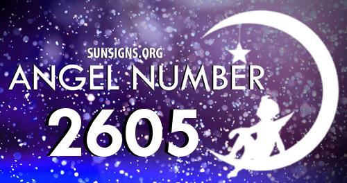 angel number 2605