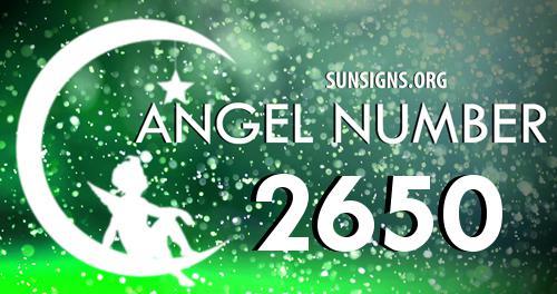 angel number 2650