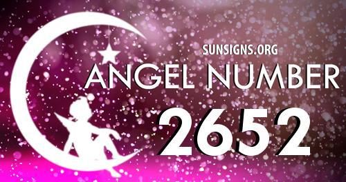 angel number 2652