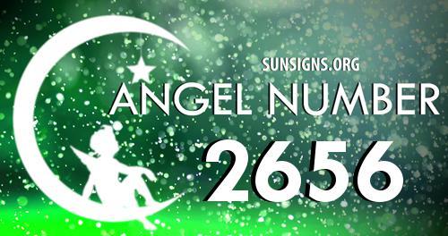 angel number 2656