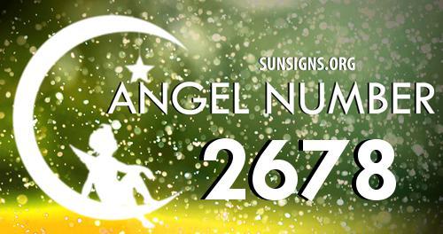 angel number 2678