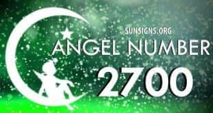 angel number 2700