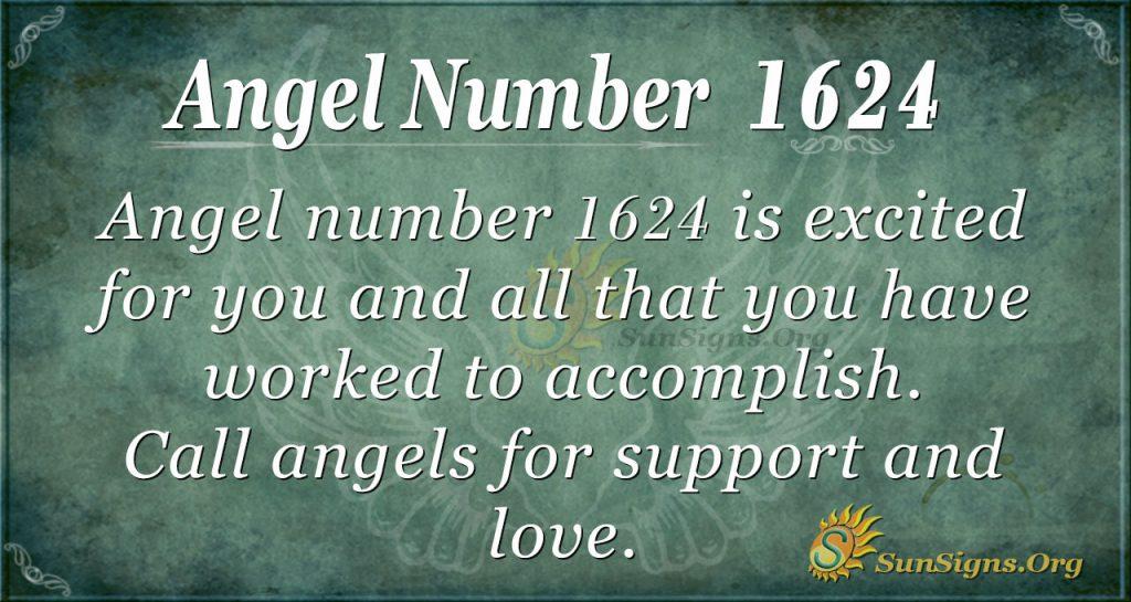 Angel Number 1624
