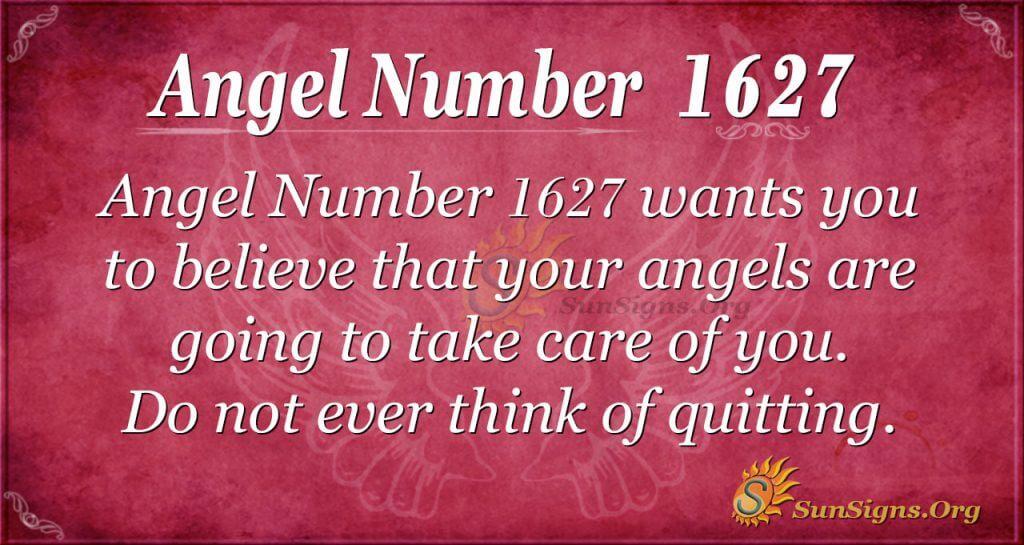 Angel Number 1627