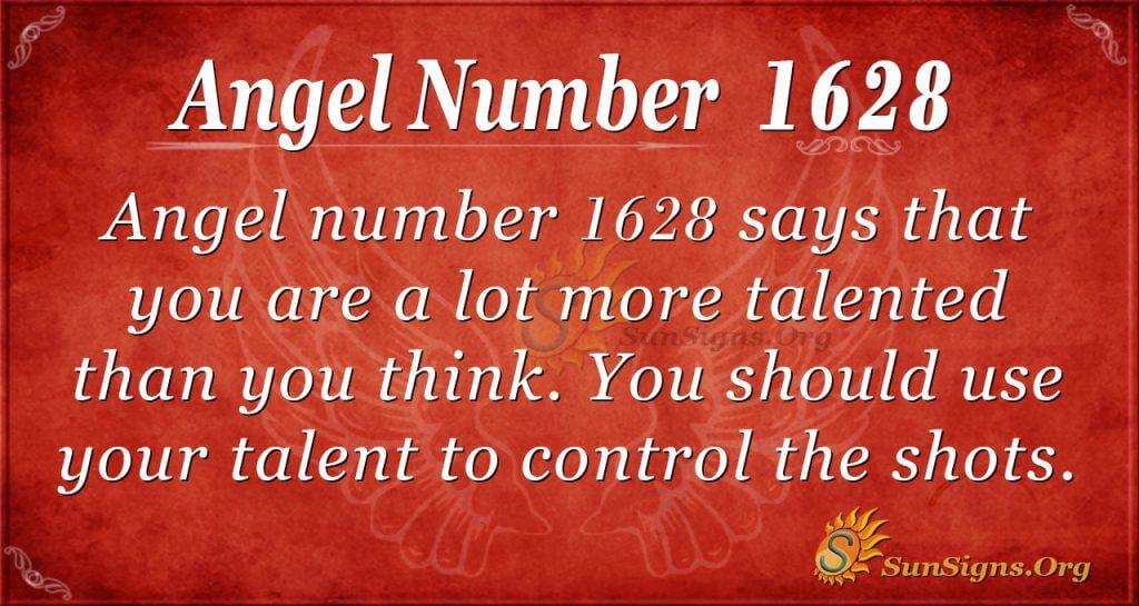 Angel Number 1628