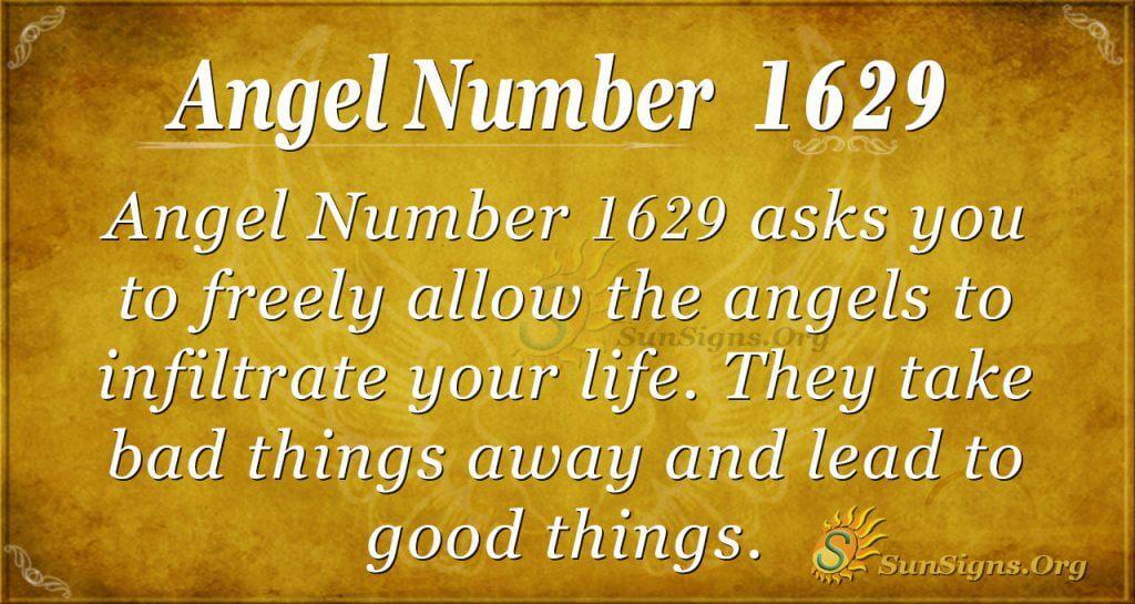 Angel Number 1629
