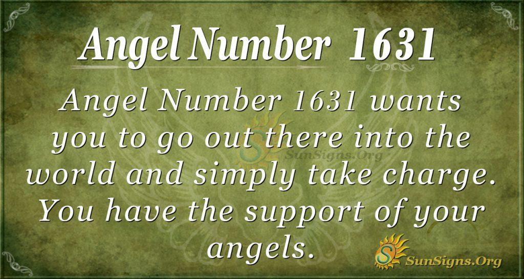 Angel Number 1631
