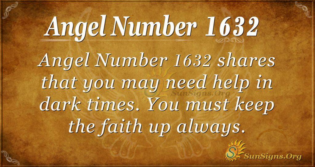 Angel Number 1632