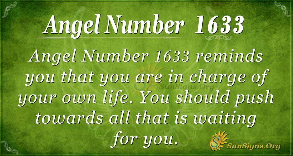 Angel Number 1633