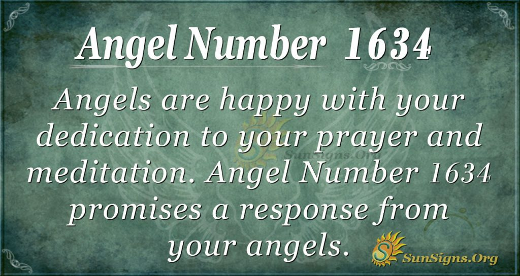 Angel Number 1634