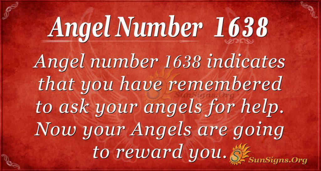 Angel Number 1638
