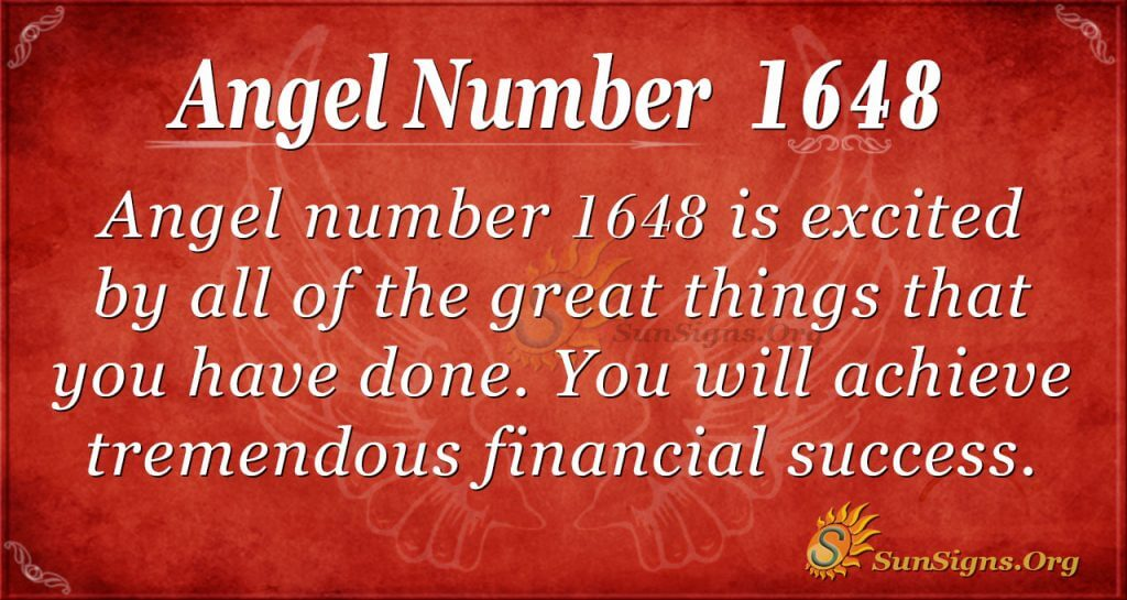 Angel Number 1648