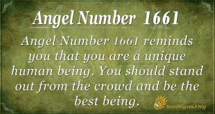 Angel Number 1661