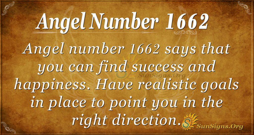 Angel Number 1662