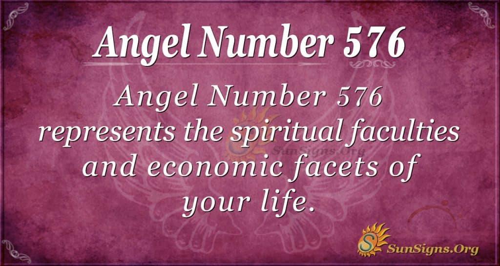 angel number 576