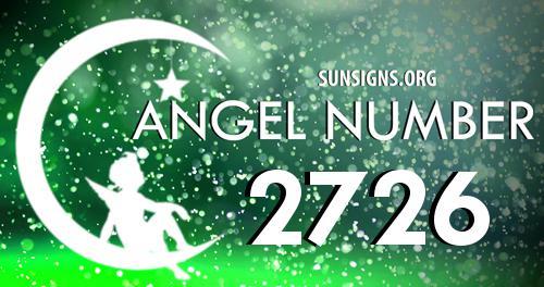 angel number 2726