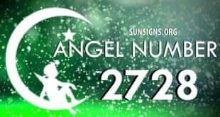 angel number 2728