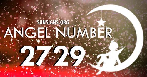 angel number 2729