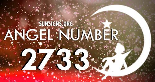 angel number 2733